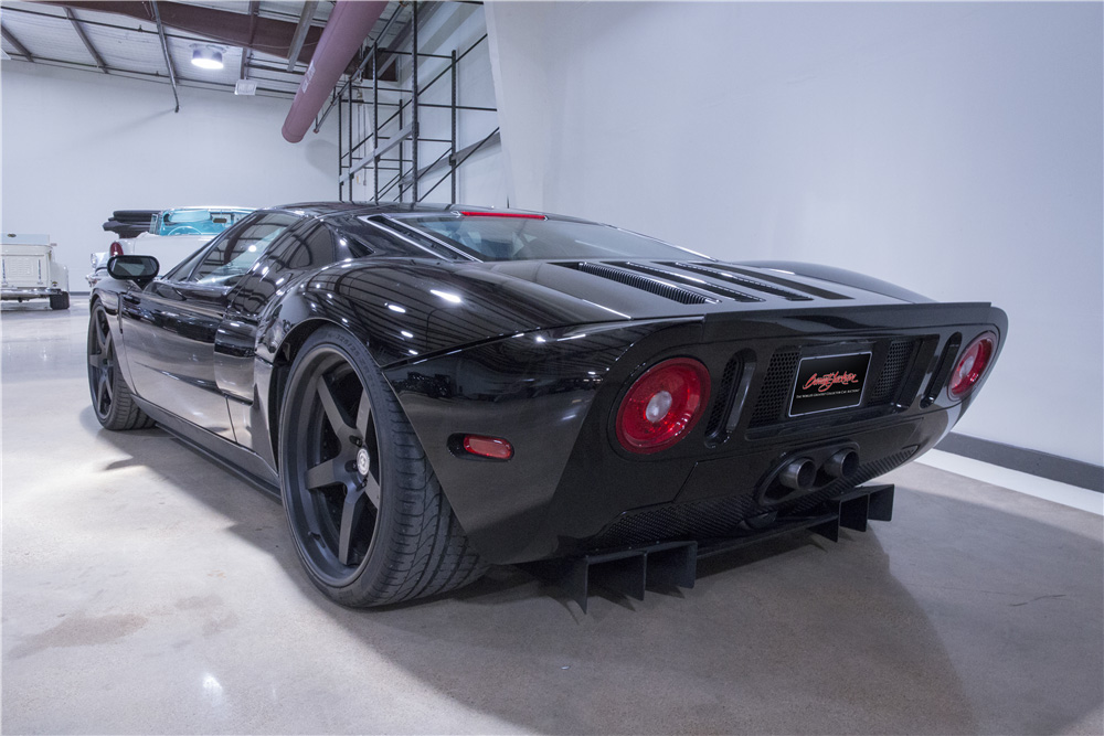 the gas monkey ford gt will be auctioned off at barrett. Black Bedroom Furniture Sets. Home Design Ideas