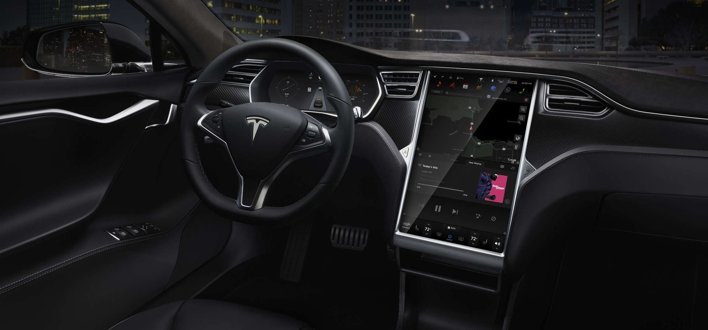 Tesla 8.0 software update