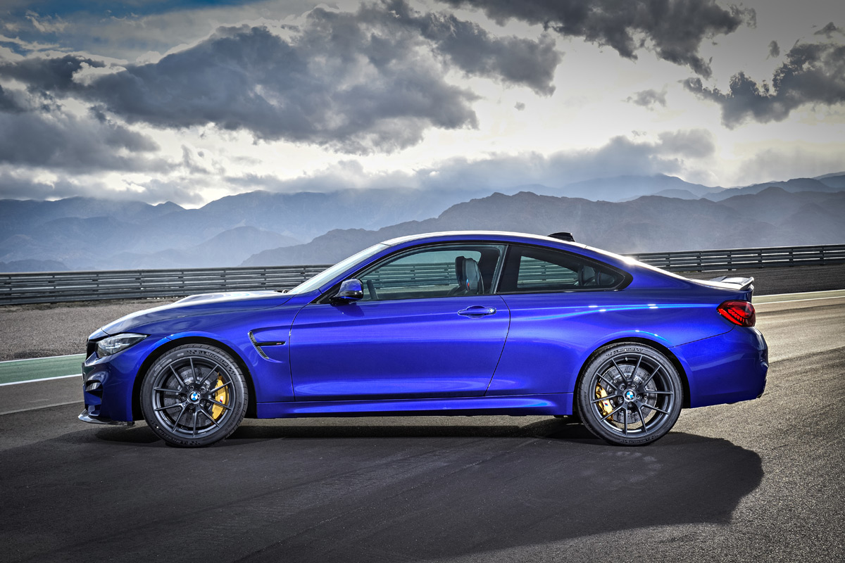 The 2018 BMW M4 CS Lines Up Between M4 Coupe w/ Competition Package ...
