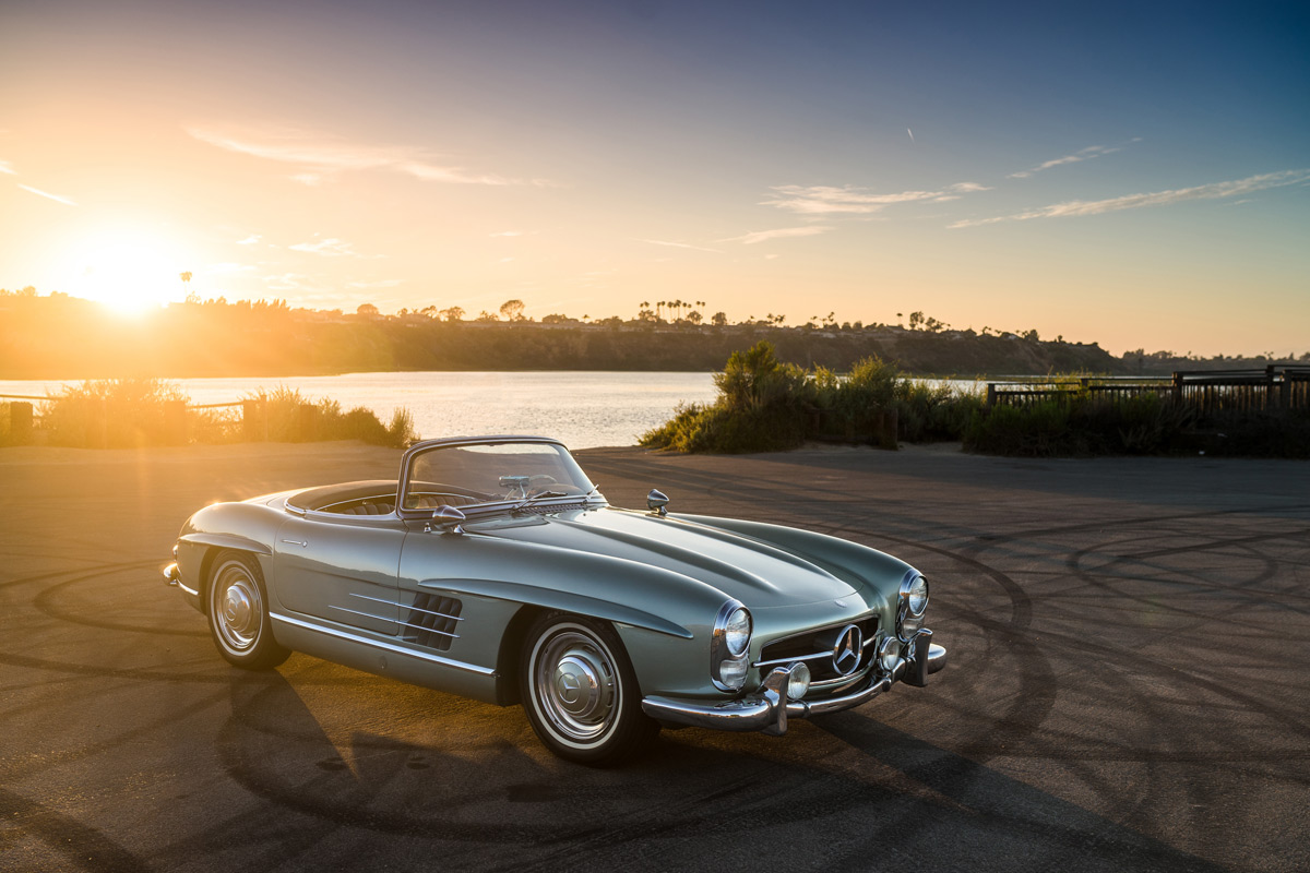 This gorgeous 1960 mercedes benz 300 sl roadster is for Mercedes benz 300 sl roadster
