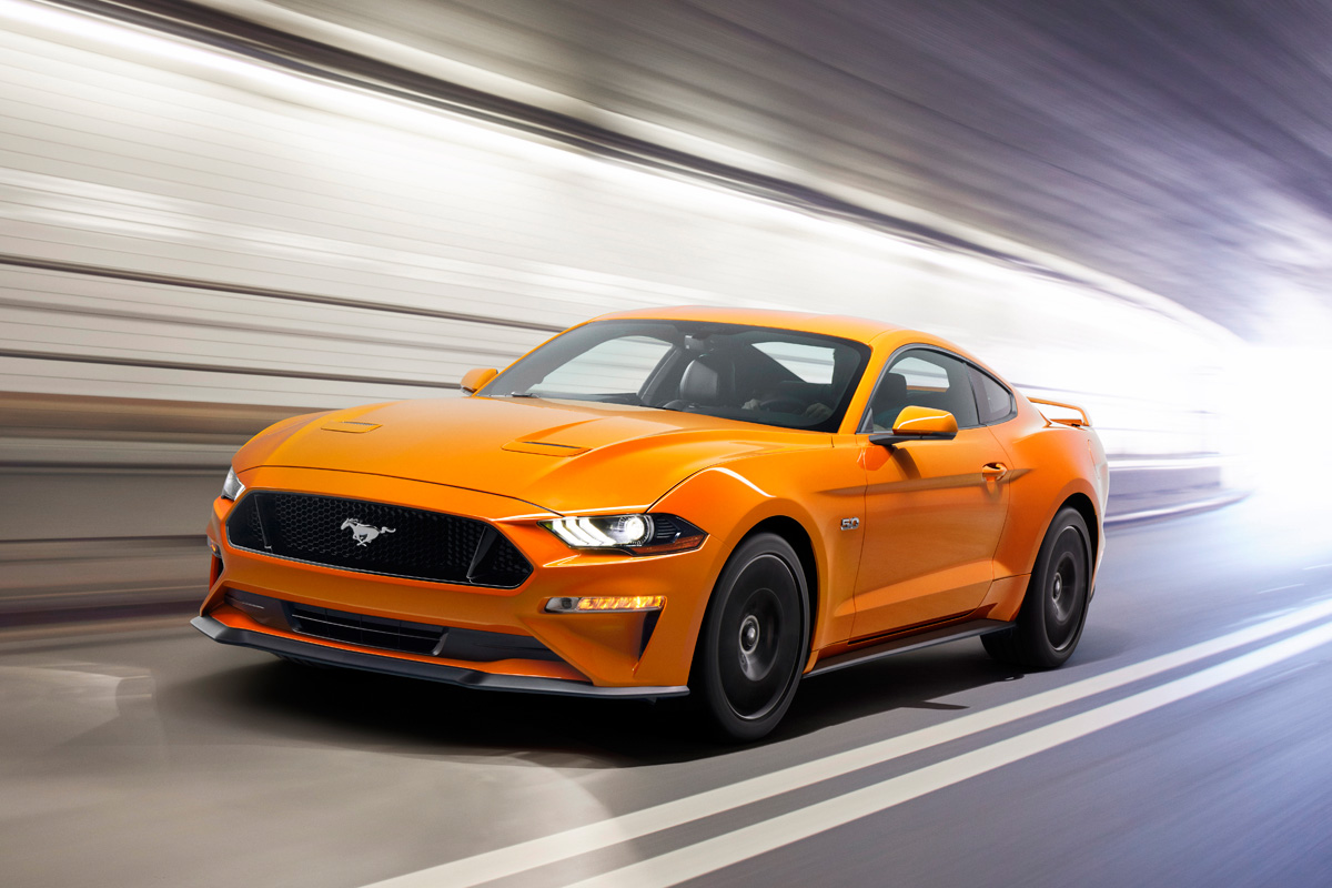 2018 Ford Mustang GT - Orange Fury