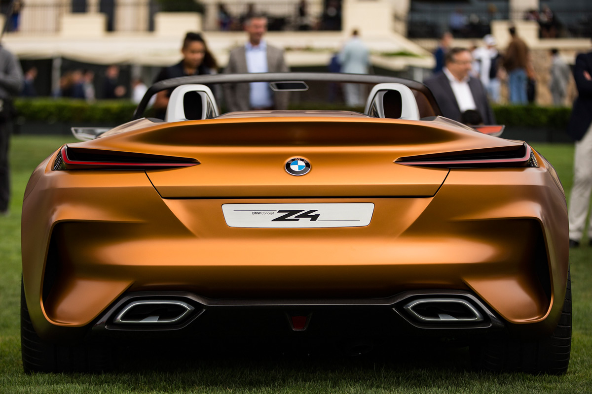 BMW Concept Z4 unveiled at Monterey Car Week