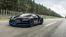 Bugatti Chiron sets World Record