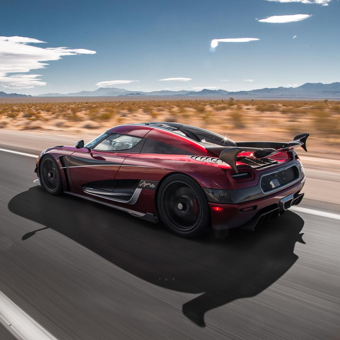 The Koenigsegg Agera RS Just Set A Top Speed Record Of 277.9 MPH ...
