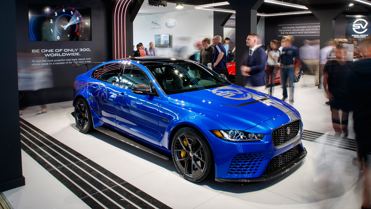 the jaguar xe sv project 8 just set a record lap time at the n rburgring. Black Bedroom Furniture Sets. Home Design Ideas