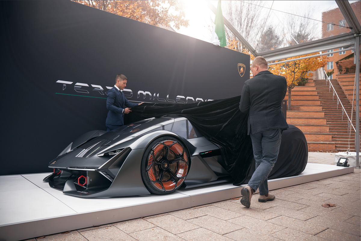 The Lamborghini Terzo Millennio Is An Electric Supercar Like No Other