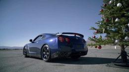 Nissan-GT-R christmas tree