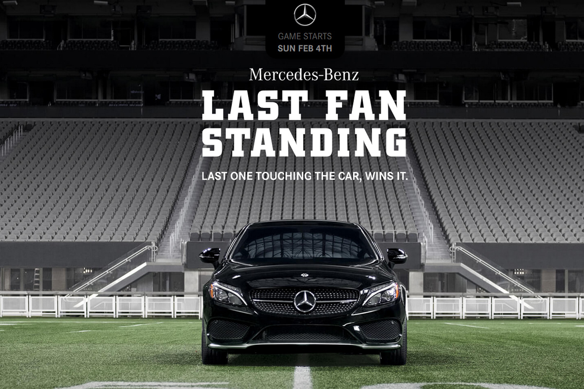 Mercedes-Benz Last Fan Standing