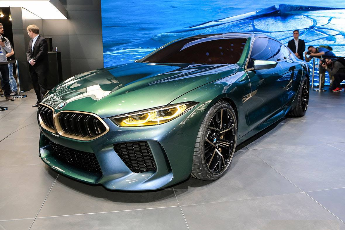 the stunning bmw concept m8 gran coupe makes its debuts in geneva. Black Bedroom Furniture Sets. Home Design Ideas
