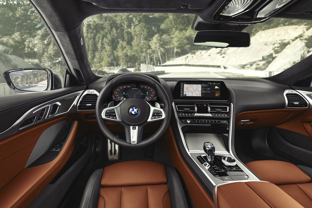 2019 BMW 8 Series Coupe - Interior