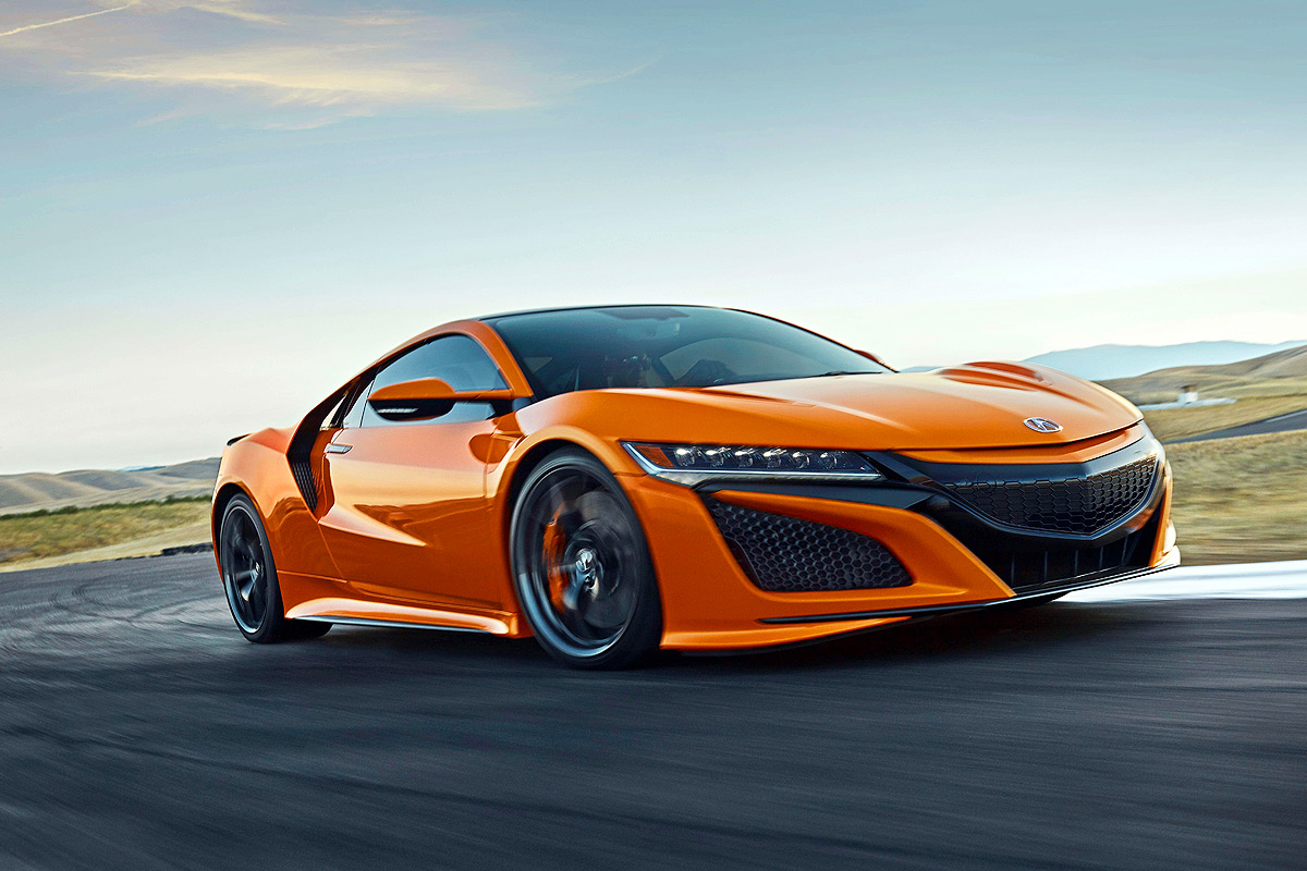 The 2019 Acura NSX Receives Mild Facelift, Better Chassis ...
