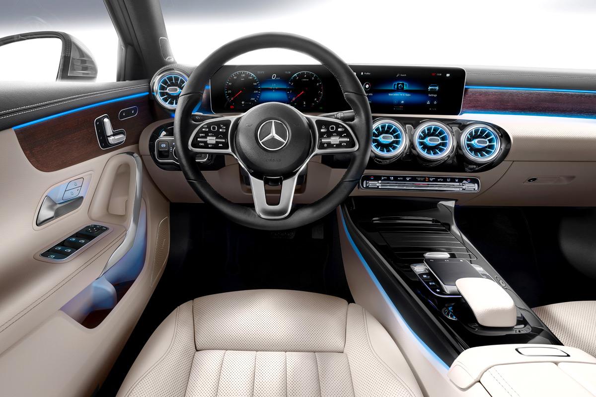 2019 Mercedes-Benz A-Class Sedan interior