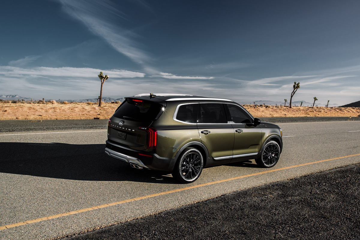 The All-New 2020 Kia Telluride Offers Rugged Luxury