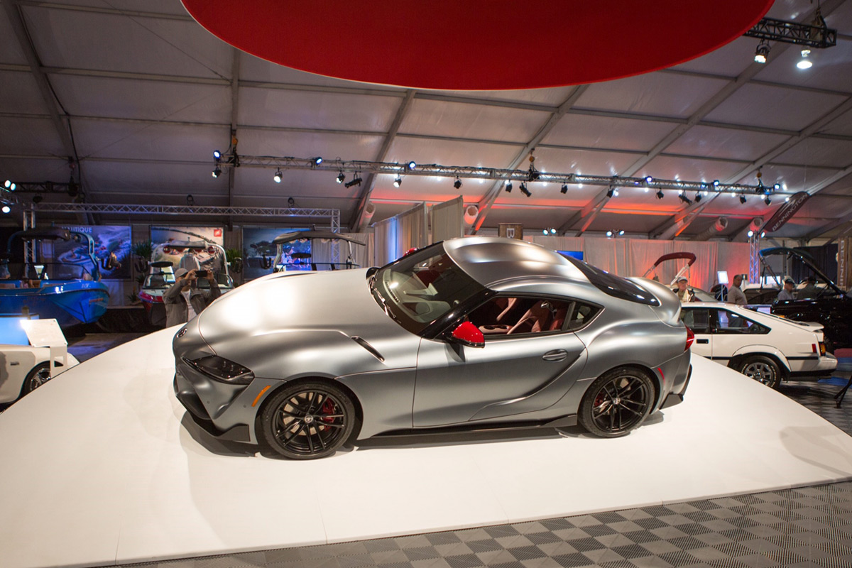 holy crap, the first 2020 toyota supra just sold at