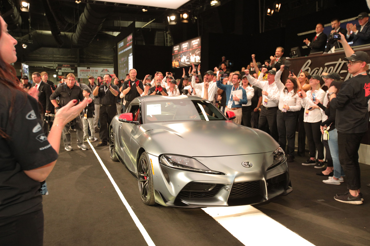 2020 Toyota Supra sold at Barrett-Jackson Scottsdale