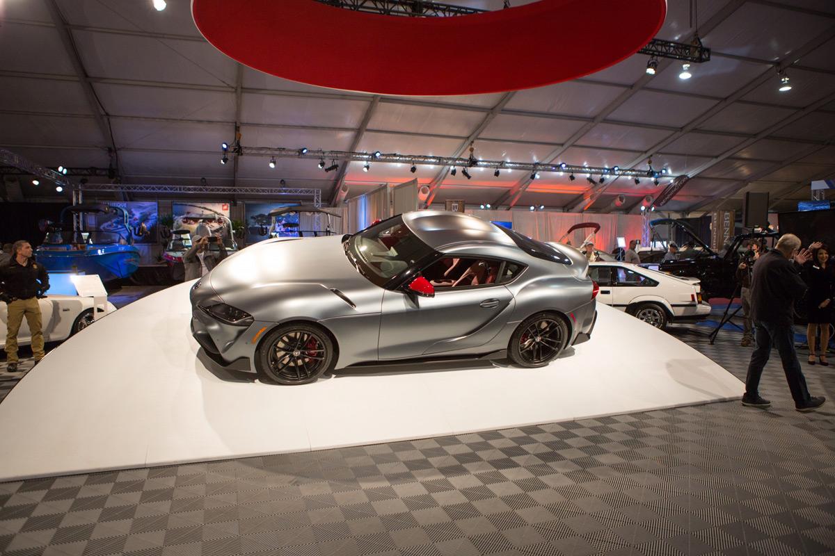 2020 Toyota Supra sold at Barrett-Jackson Scottsdale