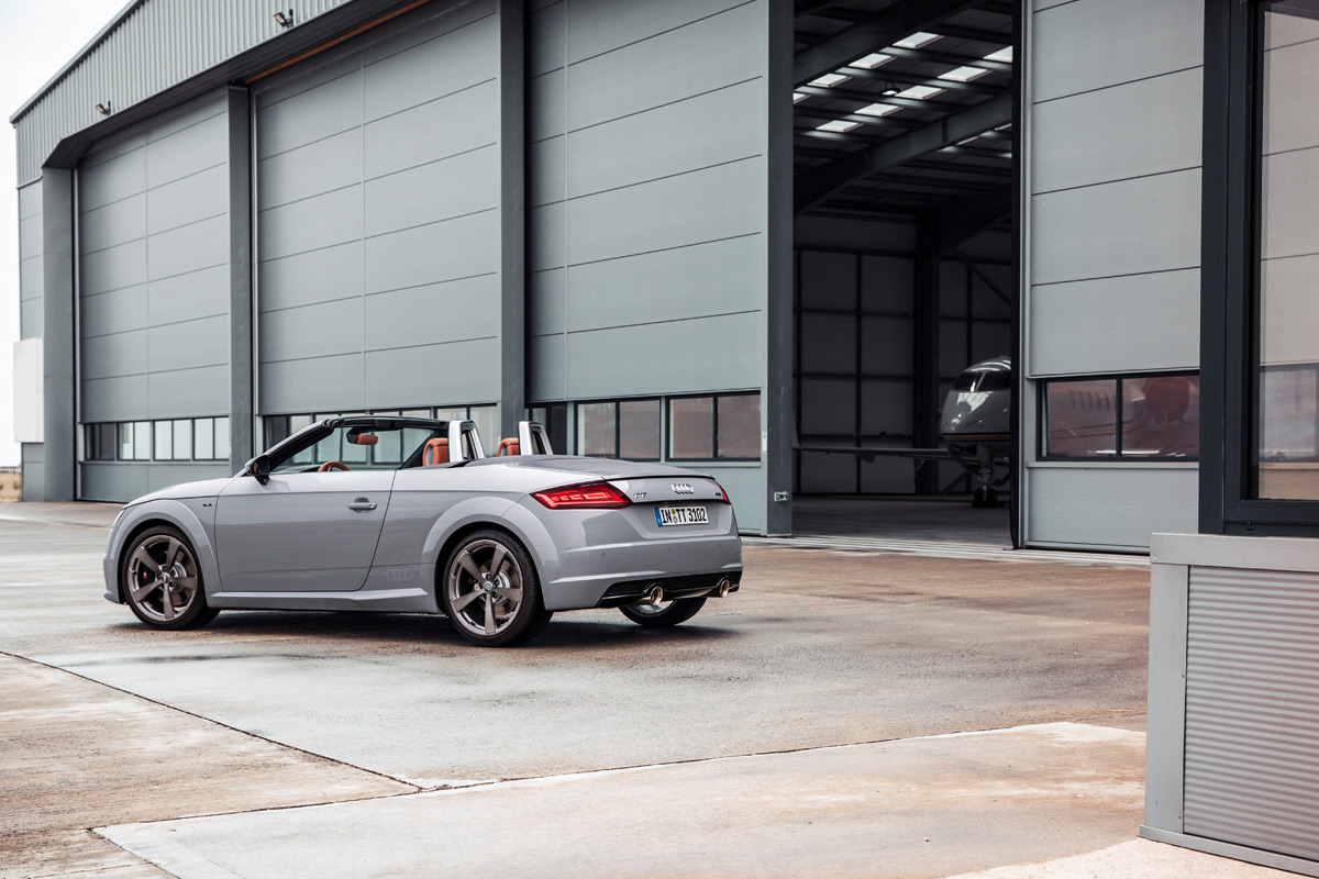 The Audi TT 20th Anniversary Edition Pays Homage To The ...