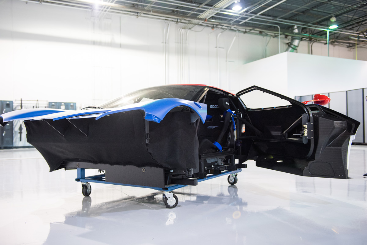 Vising the Ford Performance Tech Center in North Carolina
