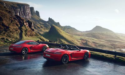 Porsche 718 Boxster T and Cayman T