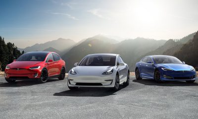 Tesla Family Of Cars - Model 3, S, X