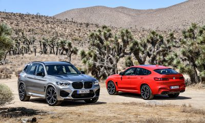 2020 BMW X3 M and BMW X4 M