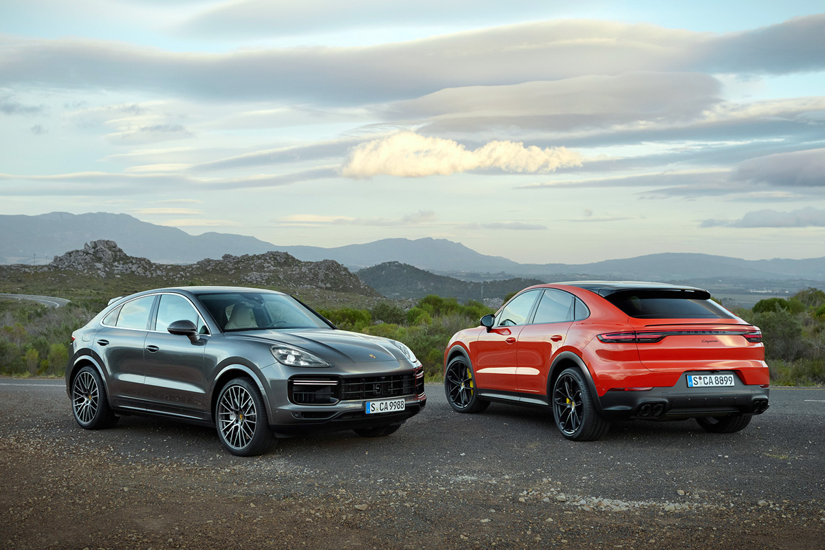 2020 Porsche Cayenne Coupe and Turbo Coupe