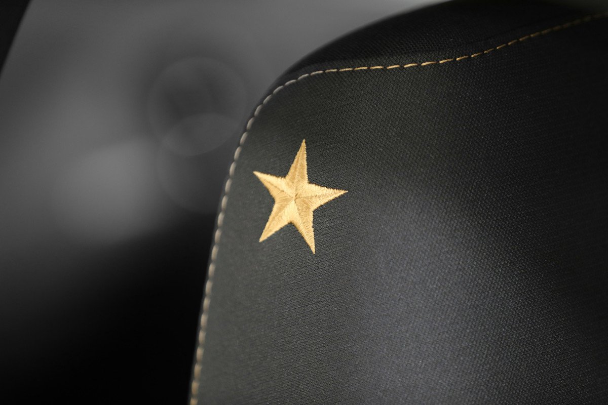 Dodge Stars & Stripes Edition - Embroidered Bronze Star