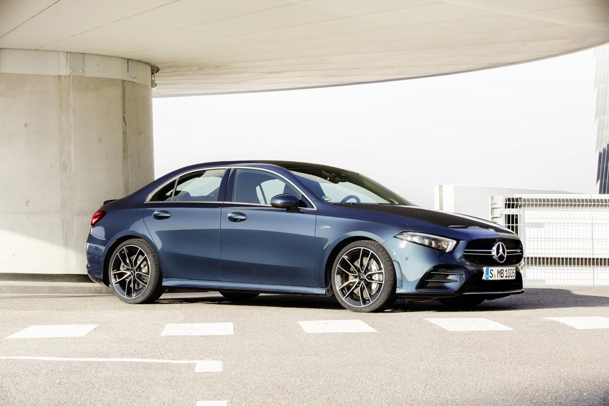 Mercedes-AMG A 35 Sedan - Front