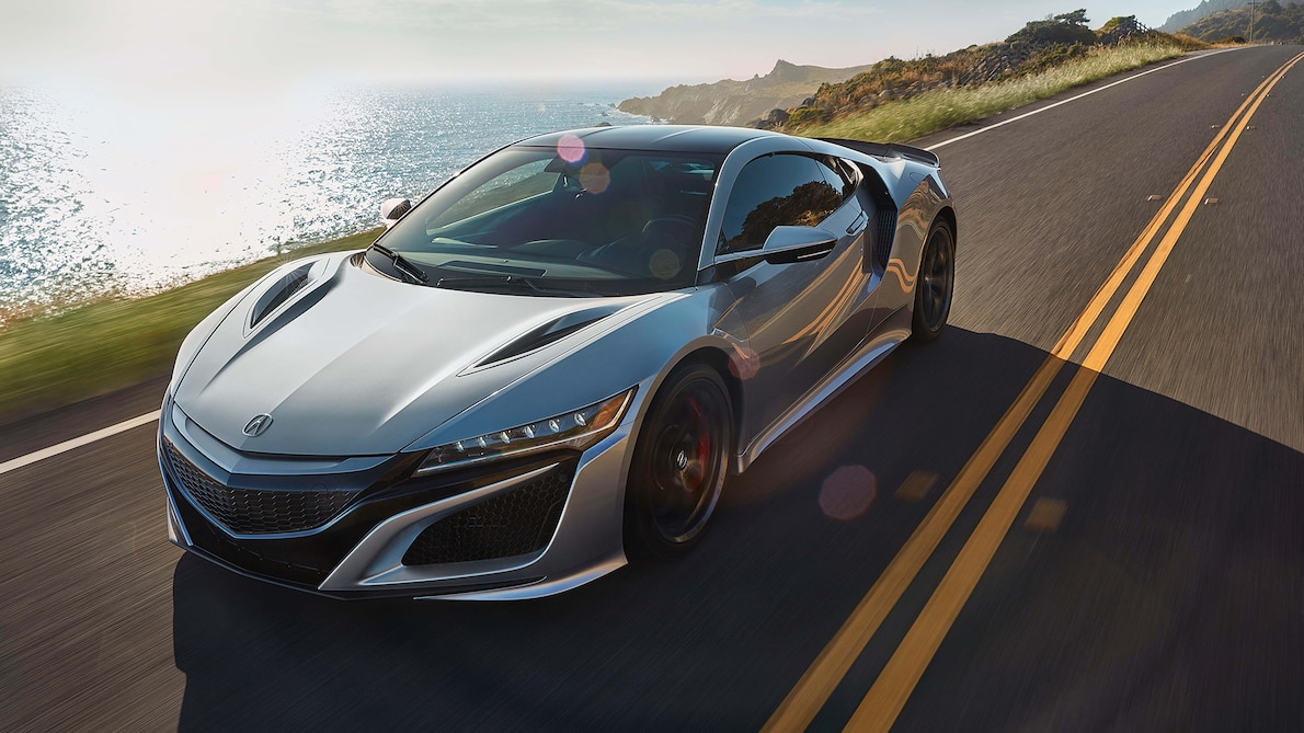 2019 Acura NSX - front three quarter in motion
