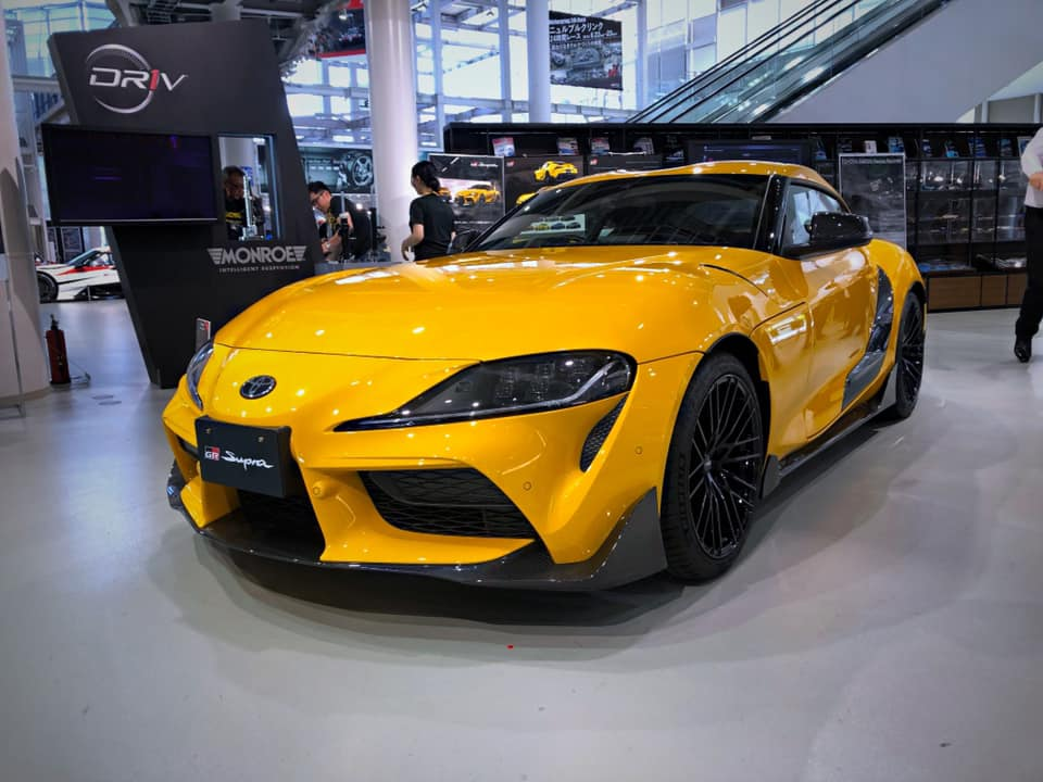 2020 Toyota Supra with TRD appearance kit