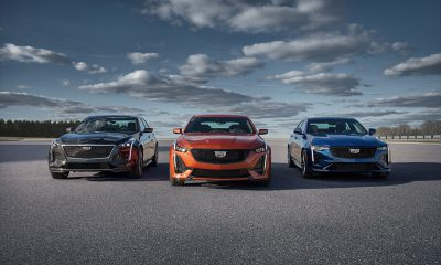 Cadillac CT4 CT5 CT6 V-Series Family