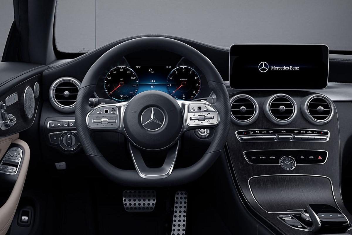 2019 Mercedes-Benz C300 Coupe interior