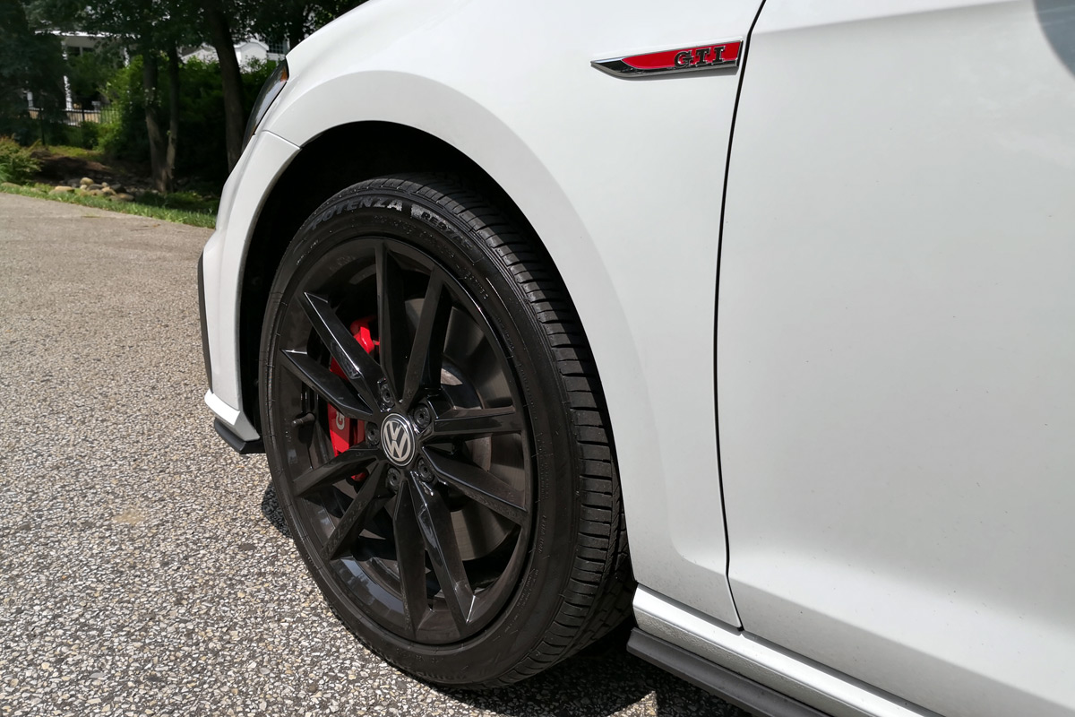 2019 Volkswagen Golf GTI Rabbit Edition - 18-inch Black Wheels