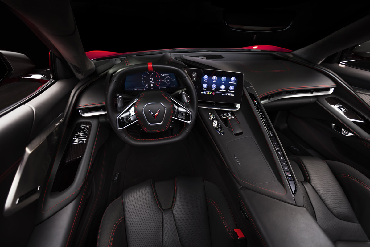 2020 Chevrolet Corvette Stingray interior