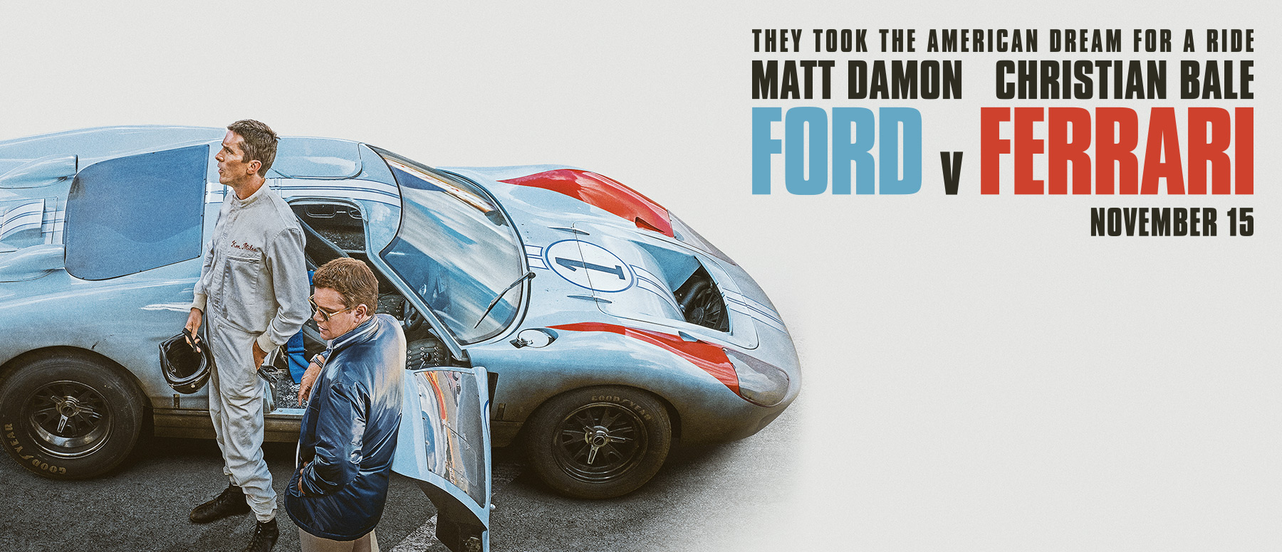 Ford v Ferrari movie poster