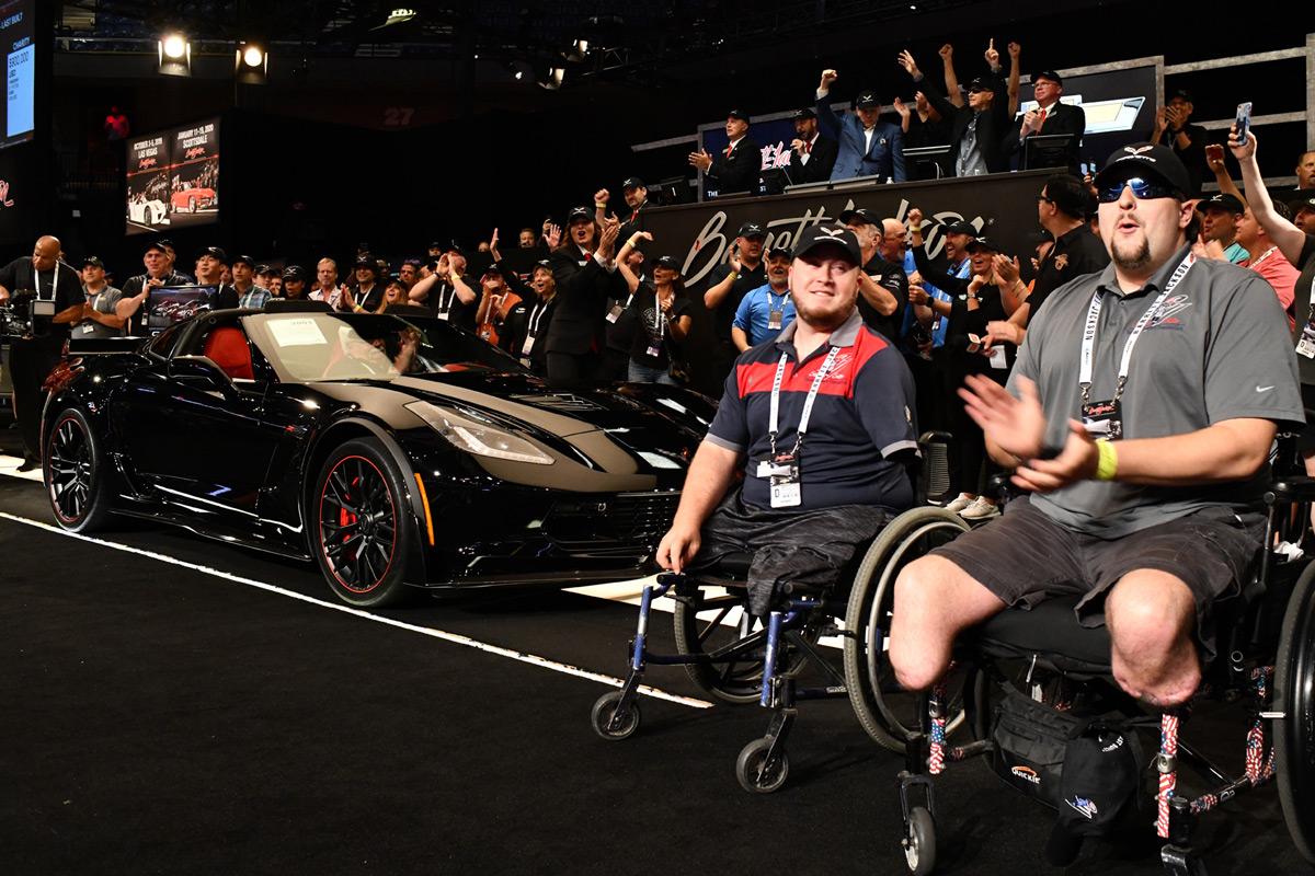 Final Chevrolet Corvette C7 Sells For $2.7M