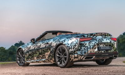Lexus LC Convertible Prototype unveiled at Goodwood Festival of Speed