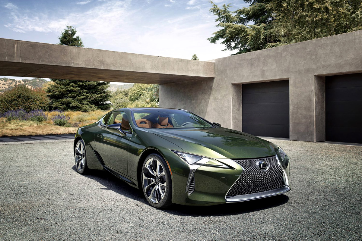 2020 Lexus LC 500 Inspiration Series