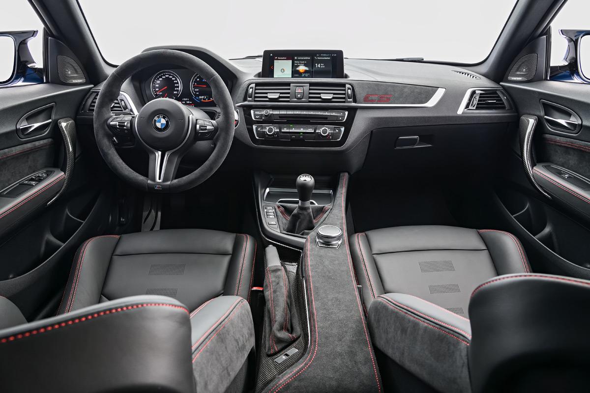 2020 BMW M2 CS interior