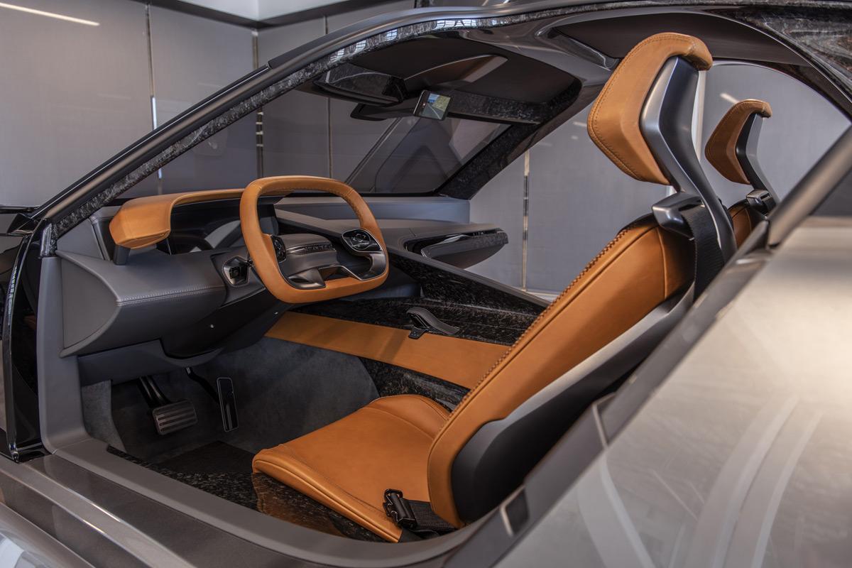 Karma SC2 Concept interior