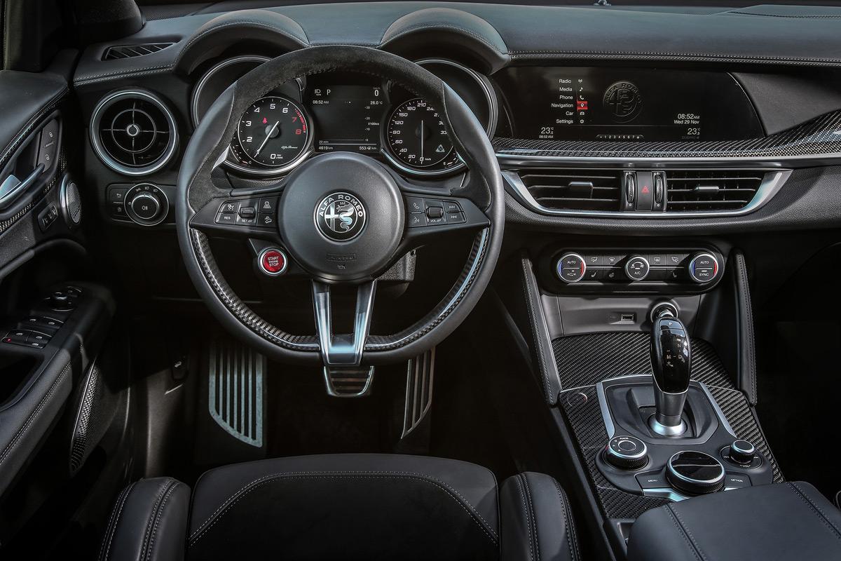 2019 Alfa Romeo Stelvio Quadrifoglio - Interior