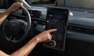 2021 Ford Mach-E touchscreen