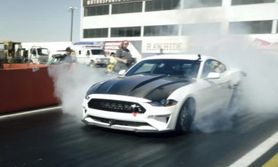 Ford Mustang Cobra Jet 1400 Electric Dragster Prototype