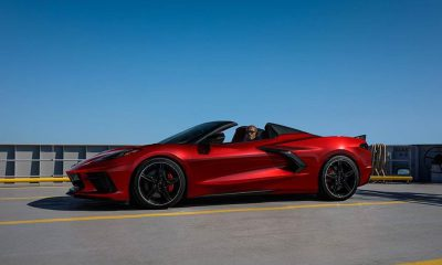 2021 Chevrolet Corvette C8 in Red Mist Metallic