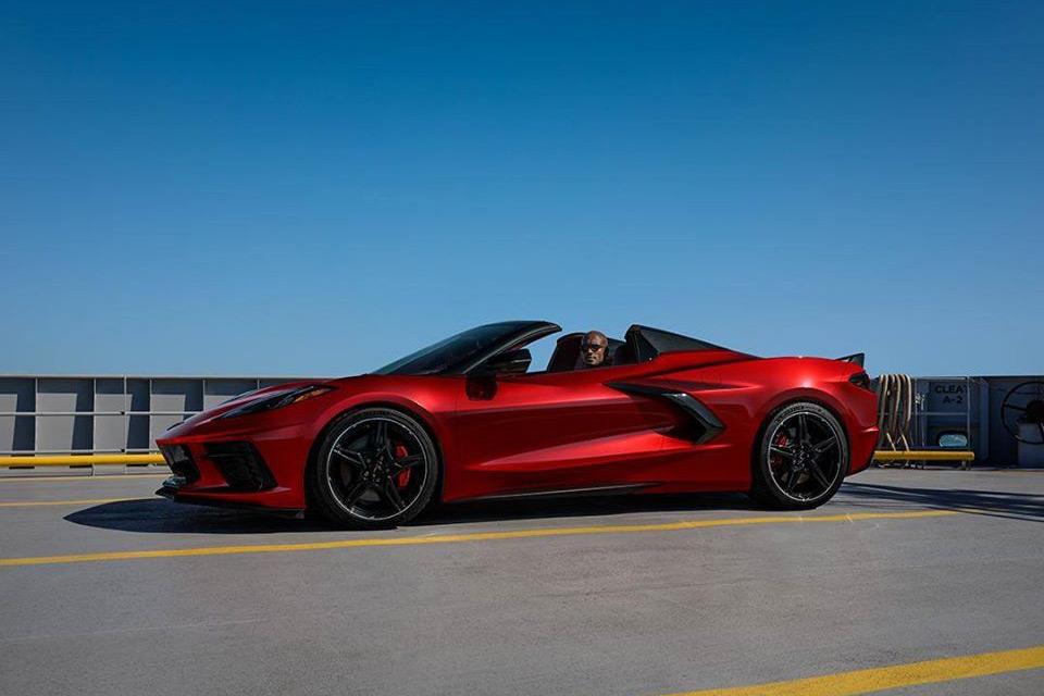 2021 Chevrolet Corvette C8 in Red Mist Metallic