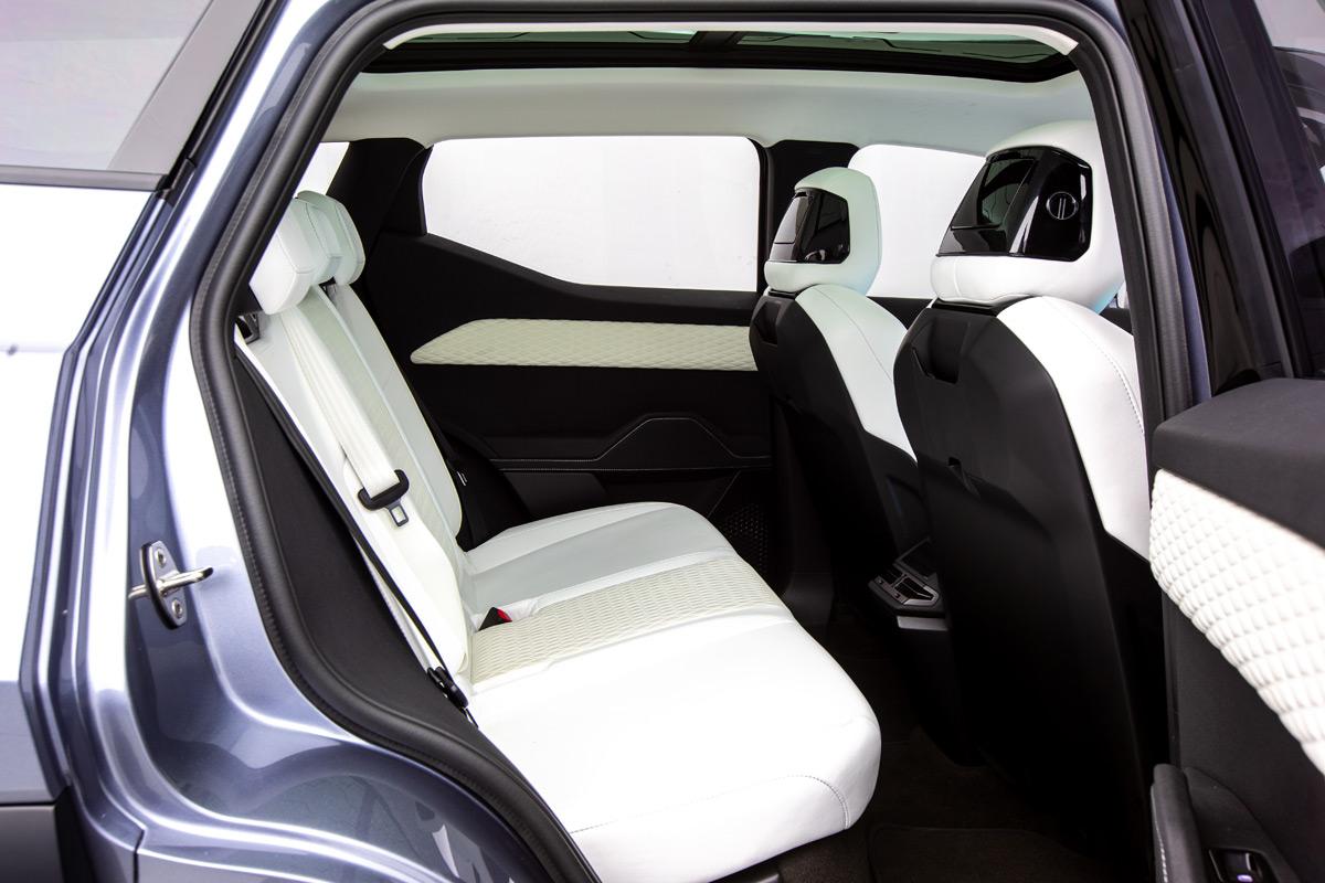 Fisker Ocean SUV - Back Seat