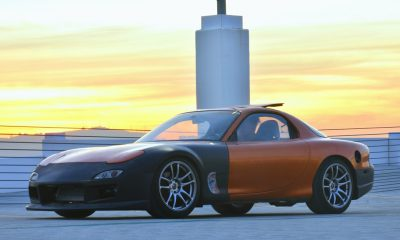 Tesla-Swapped RX-7