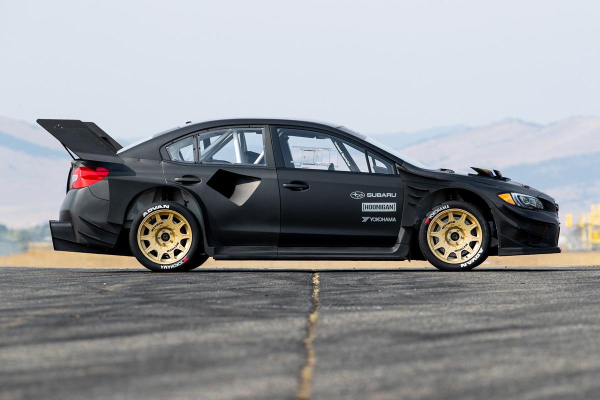 Gymkhana 11 Subaru WRX STI