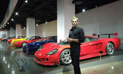 The Petersen Museum - Supercars Exhibit