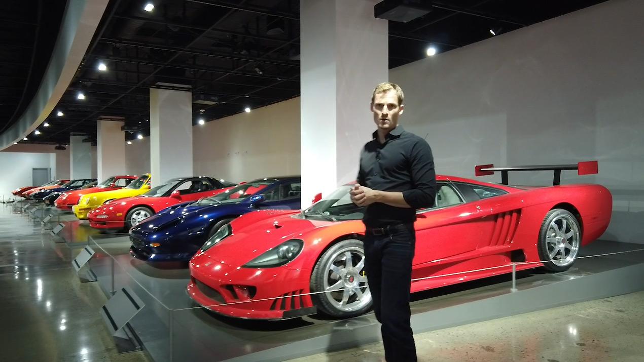 The Petersen Museum - Supercars Exhibit